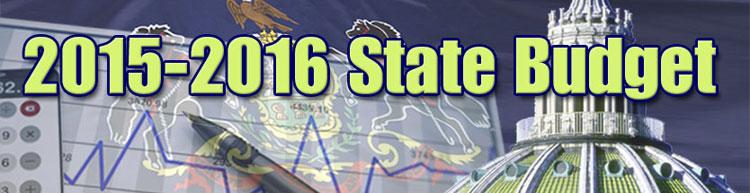 2015-2016 Pennsylvania State Budget