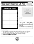 Child Safety Fingerprint ID Form