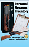 Personal Firearms Inventory Book