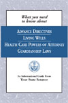 Living Wills Guardianship Power of Attorney Booklet