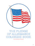The Pledge of Allegiance Coloring Book